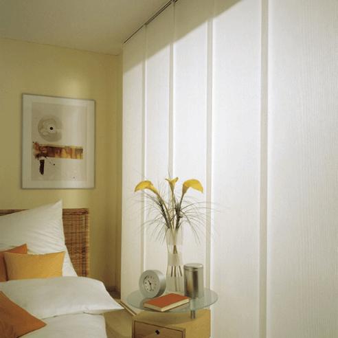 Paneles japoneses en tejido translúcido