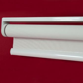 Estores autoenrollables a muelle en tejido Screen fibra de vidrio