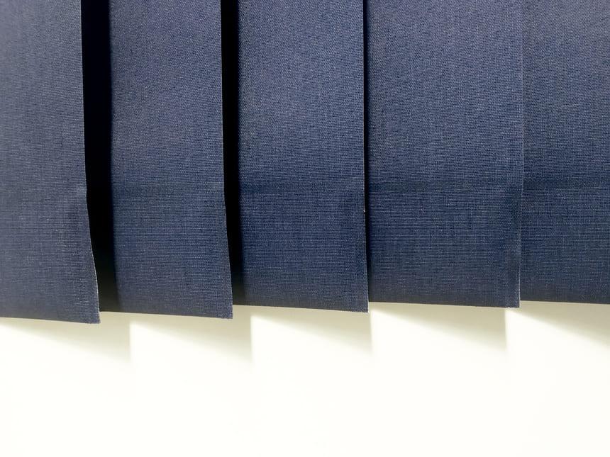 cortina vertical sin cadena distanciadora