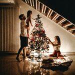 estores para navidad