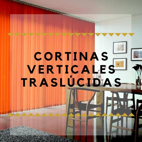 comprar cortinas verticales traslucidas baratas online a medida