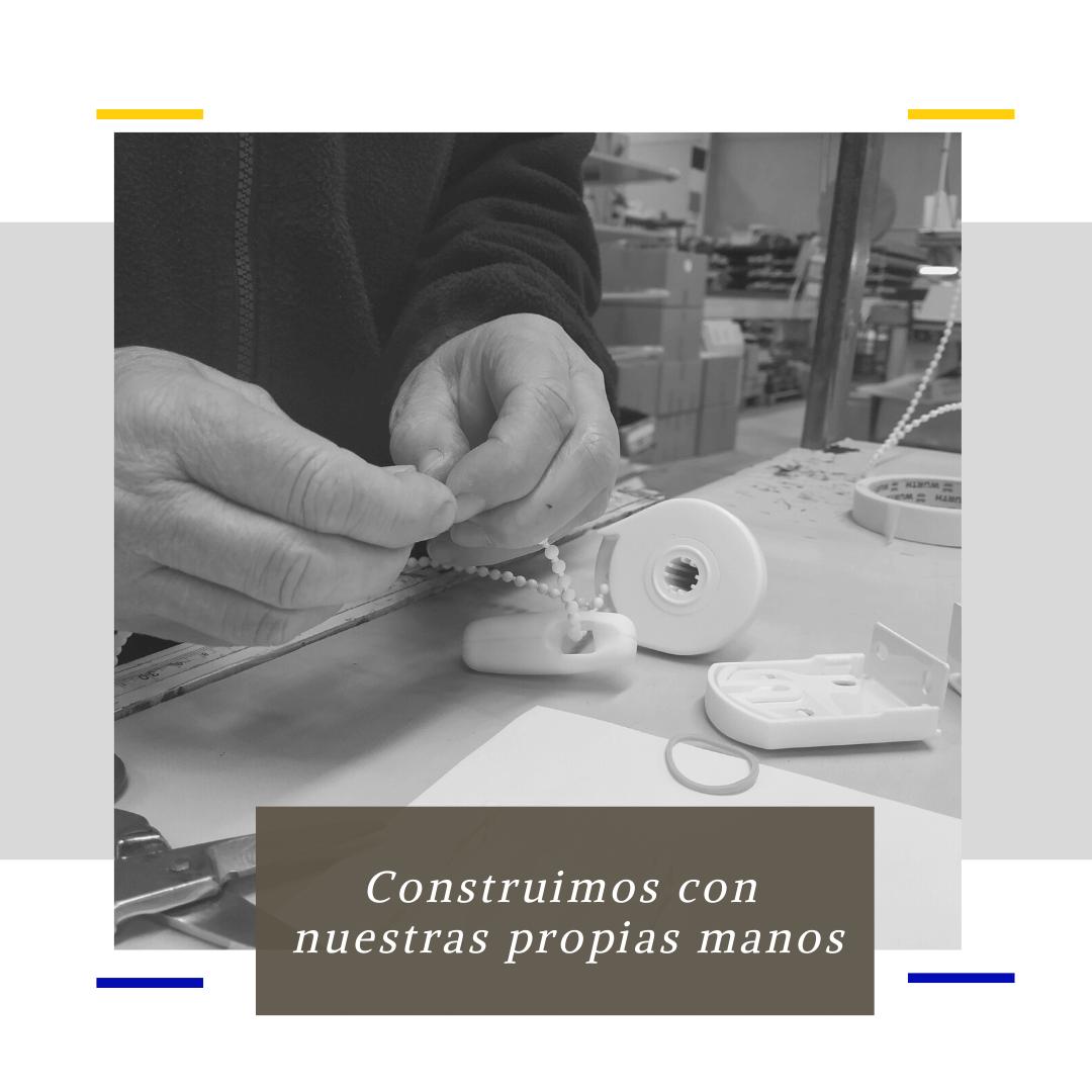 Fabricación 100% española de estores, cortinas y venecianas hechos a medida